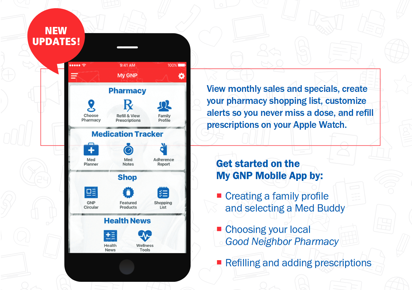 Download the My GNP app